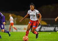 Esther Buabadi (24) of Zulte-Waregem pictured during a female soccer game between RSC Anderlecht Dames and SV Zulte Waregem on the 10 th matchday of the 2020 - 2021 season of Belgian Womens Super League , friday 18 th of December 2020  in Tubize , Belgium . PHOTO SPORTPIX.BE | SPP | DAVID CATRY