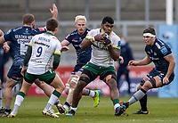 21st March 2021; AJ Bell Stadium, Salford, Lancashire, England; English Premiership Rugby, Sale Sharks versus London Irish; Albert Tuisue of London Irish
