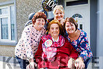 Bridget O'Grady celebrating her 100th birthday in Castleshannon Causeway. L to r: Julianna O'Grady, Eimear and Maureen O'Mahoney.