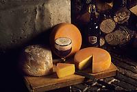 Europe/Belgique/Wallonie/Province de Hainaut/Chimay : Fromage à la bière et grande réserve de Chimay