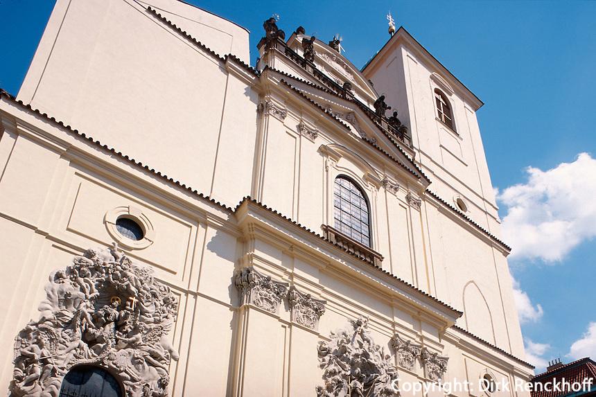 Tschechien, Prag, Jakobskirche (Kostel sv.Jakuba), Unesco-Weltkulturerbe.