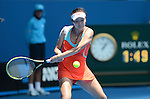 Peng loses  at Australian Open in Melbourne Australia on 17th January 2013