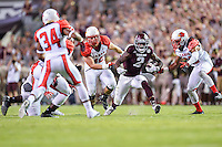 Texas A&M wide receiver Speedy Noil (2) during NCAA Football game, Saturday, September 06, 2014 in College Station, Tex. Texas A M leads Lamar 31-3 at the halftime. (Mo Khursheed/TFV Media via AP Images)