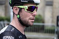 Mark Cavendish (GBR/Team Dimension Data) pre race on his way to singin in. <br /> <br /> 102nd Kampioenschap van Vlaanderen 2017 (UCI 1.1)<br /> Koolskamp - Koolskamp (192km)