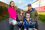 Enjoying a stroll on the Tralee Greenway on Thursday, l to r: Emily, Karen, Harry and Stuart Twamley.