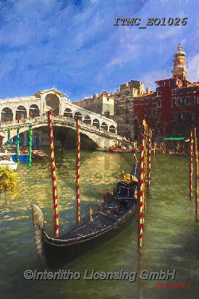 Marcello, LANDSCAPES, LANDSCHAFTEN, PAISAJES, paintings+++++,ITMCEO1026,#l#, EVERYDAY ,venice ,puzzles