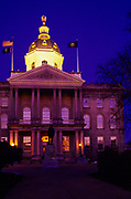The State Capitol Building.Located in Concord, New Hampshire,USA.
