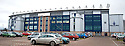 General view of the exterior of Falkirk Stadium  .....