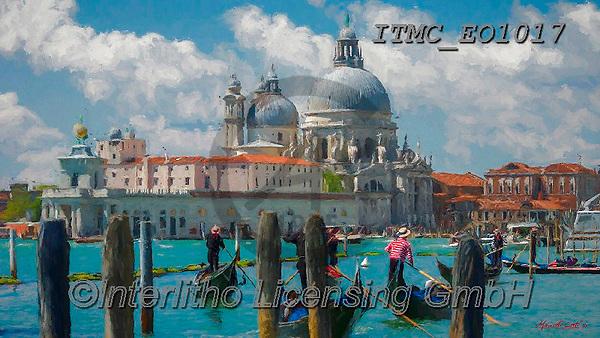 Marcello, LANDSCAPES, LANDSCHAFTEN, PAISAJES, paintings+++++,ITMCEO1017,#l#, EVERYDAY ,puzzles