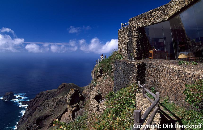 Mirador de la Pena, erbaut von Cesar Manrique, El Hierro, Kanarische Inseln, Spanien