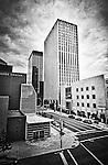 Buildings in Dayton Ohio: Second & Ludlow looking east.