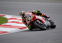 Shane Byrne (67) of Be Wiser Ducati during practice in the MCE BRITISH SUPERBIKE Championships 2017 at Brands Hatch, Longfield, England on 13 October 2017. Photo by Alan  Stanford / PRiME Media Images.