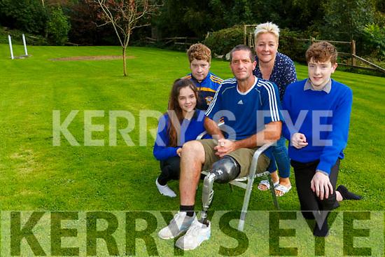 Seamus O'Brien Firies with his wife Ruth and children Ciaran, Cara, Oisin