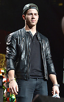 SUNRISE, FL - DECEMBER 21: Nick Jonas attends Y100's Jingle Ball 2014 at BB&T Center on December 21, 2014 in Sunrise, Florida..<br /> <br /> People:  Nick Jonas