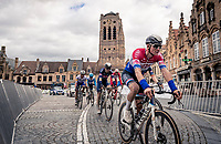 Mathieu Van der Poel (NED/Alpecin-Fenix)<br /> <br /> 44th AG Driedaagse Brugge-De Panne 2020 (1.UWT / BEL)<br /> 1 day race from Brugge to De Panne (203km shortened to 188km due to the windy weather conditions) <br /> <br /> ©kramon