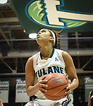 Tulane vs. Samford (Women's BBall 2014)