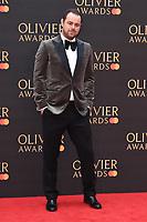 Danny Dyer<br /> arriving for the Olivier Awards 2019 at the Royal Albert Hall, London<br /> <br /> ©Ash Knotek  D3492  07/04/2019