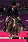 Rider Luiz Felipe De Azevedo Filho and his horse Berdina during Madrid Horse Week at Ifema in Madrid, Spain. November 26, 2017. (ALTERPHOTOS/Borja B.Hojas)