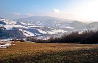 Paesaggio dell'Oltrepò Pavese (provincia di Pavia) --- Landscape of the Oltrepò Pavese (province of Pavia)