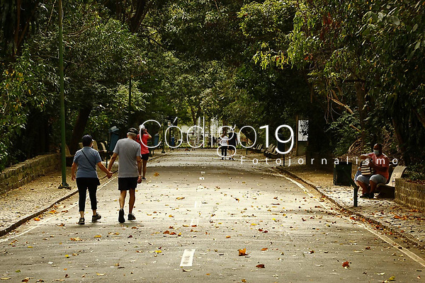 Campinas (SP), 15/08/2020 - Flexibilização-SP - Movimento no Bosque dos Jequitibas em Campinas, interior de São Paulo, neste sábado (15), após 148 parques da cidade voltaram a abrir ao público.