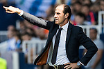 Coach Salvador Gonzalez Marco alias Voro of Valencia CF gestures during their La Liga match between Club Deportivo Leganes and Valencia CF at the Butarque Municipal Stadium on 25 September 2016 in Madrid, Spain. Photo by Diego Gonzalez Souto / Power Sport Images