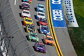 2017 NASCAR Cup - Clash at Daytona<br /> Daytona International Speedway, Daytona, FL USA<br /> Sunday 19 February 2017<br /> Denny Hamlin, FedEx Express Toyota Camry, Matt Kenseth, Interstate Batteries Toyota Camry and Daniel Suarez, ARRIS Toyota Camry<br /> World Copyright: Russell LaBounty/LAT Images<br /> <br /> ref: Digital Image 17DAY1rl_2733