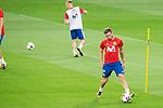 Saul Niguez during Spain training session at Santiago Bernabeu Stadium in Madrid, Spain September 01, 2017. (ALTERPHOTOS/Borja B.Hojas)