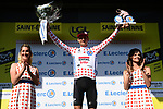 Tim Wellens (BEL) Lotto-Soudal retains the mountains Polka Dot Jersey at the end of Stage 8 of the 2019 Tour de France running 200km from Macon to Saint-Etienne, France. 13th July 2019.<br /> Picture: ASO/Alex Broadway   Cyclefile<br /> All photos usage must carry mandatory copyright credit (© Cyclefile   ASO/Alex Broadway)