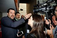 Matteo Salvini<br /> Rome February 16th 2020. Convention 'Salvini meets Rome'.<br /> Foto Samantha Zucchi Insidefoto