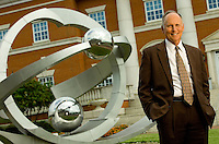 UNC Charlotte's Chancellor Philip Dubois - On-Location Portrait Photography
