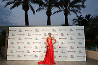 Monte-Carlo, Monaco, 18/06/2017 - 30th Anniversary of 'The Bold and the Beautiful' party Arrival Photocall at the Monte-Carlo Bay, Monaco, during the 57th Monte-Carlo Television Festival. Federica Torti # 30EME ANNIVERSAIRE DE 'AMOUR, GLOIRE ET BEAUTE'