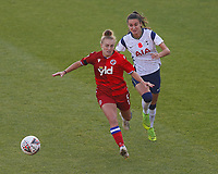 Molly Bartrip of Reading and Rosella Ayane of Tottenham during Tottenham Hotspur Women vs Reading FC Women, Barclays FA Women's Super League Football at the Hive Stadium on 7th November 2020