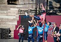 Richard Carapaz (ECU/Movistar) wins the 102nd Giro d'Italia <br /> <br /> Stage 21 (ITT): Verona to Verona (17km)<br /> 102nd Giro d'Italia 2019<br /> <br /> ©kramon