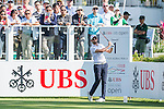 Grégory Bourdy of France tees off the first hole during the 58th UBS Hong Kong Golf Open as part of the European Tour on 10 December 2016, at the Hong Kong Golf Club, Fanling, Hong Kong, China. Photo by Marcio Rodrigo Machado / Power Sport Images