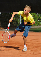 08-08-13, Netherlands, Rotterdam,  TV Victoria, Tennis, NJK 2013, National Junior Tennis Championships 2013,    Mike Diks<br /> <br /> <br /> Photo: Henk Koster