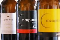 Menguante Seleccion Garnacha. Gran Viu. Vinedos y Bodegas Pablo SC. Spain Europe. Bottle.