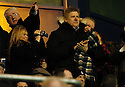 13/01/2007       Copyright Pic: James Stewart.File Name : sct_jspa02_falkirk_v_dunfermline.PETER SCHMEICHEL TAKES HIS SEAT IN THE STAND TO WATCH HIS SON'S, KAPER, DEBUT FOR FALKIRK... WHILST AN INIDENTIFIED BLONDE VIDEOS HIM AS HE RUNS ON TO THE PARK....James Stewart Photo Agency 19 Carronlea Drive, Falkirk. FK2 8DN      Vat Reg No. 607 6932 25.Office     : +44 (0)1324 570906     .Mobile   : +44 (0)7721 416997.Fax         : +44 (0)1324 570906.E-mail  :  jim@jspa.co.uk.If you require further information then contact Jim Stewart on any of the numbers above.........