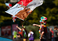 29th May 2021; Twickenham Stoop, London, England; English Premiership Rugby, Harlequins versus Bath; A Quins super fan after match