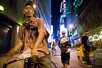 Alleycat Bike Race in New York City