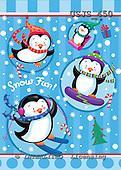 Janet, CHRISTMAS ANIMALS, paintings+++++,USJS450,#xa# Weihnachten, Navidad, illustrations, pinturas