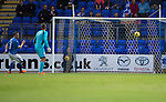 St Johnstone v Alashkert FC...09.07.15   UEFA Europa League Qualifier 2nd Leg<br /> A mix up between Tam Scobbie and Alan Mannus allows Norayr Gyozalyan to score<br /> Picture by Graeme Hart.<br /> Copyright Perthshire Picture Agency<br /> Tel: 01738 623350  Mobile: 07990 594431