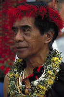 Uncle George Naope, founder of the Merrie Monarch hula festival
