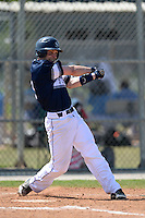 UW-Stout Blue Devils Nick Nalbach (2) during the second game of a doubleheader against the Edgewood Eagles on March 16, 2015 at Lee County Player Development Complex in Fort Myers, Florida.  UW-Stout defeated Edgewood 8-2.  (Mike Janes/Four Seam Images)