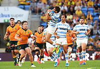 2nd October 2021, Cbus Super Stadium, Gold Coast, Queensland, Australia;  Argentina fullback Juan Cruz Mallia.<br /> Australian Wallabies versus Argentina Pumas. Rugby Championship test match. Rugby Union. Gold Coast, Australia.