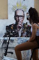 07.07.2020 - Il Maestro - Ennio Morricone's Graffiti by Harry Greb in Trastevere