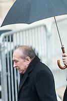 SORTIE DE GERARD COLLOMB - OBSEQUES DE PAUL BOCUSE A LYON