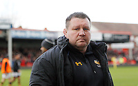 Photo: Richard Lane/Richard Lane Photography. Gloucester Rugby v Wasps. Aviva Premiership. 05/03/2016. Wasps' Director of Rugby, Dai Young.
