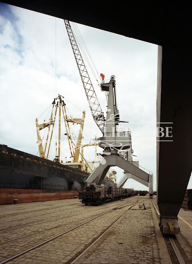 Boomse Metaalwerken in de Haven van Antwerpen