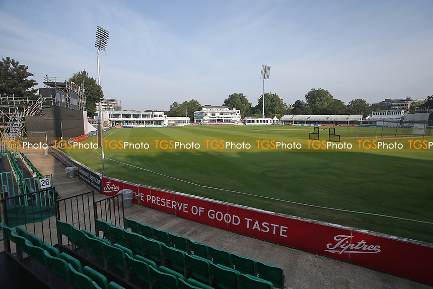 General view of the ground ahead of Essex CCC vs Gloucestershire CCC, LV Insurance County Championship Division 2 Cricket at The Cloudfm County Ground on 6th September 2021