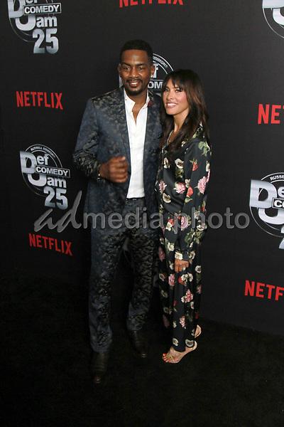 "10 September 2017 - Beverly Hills, California - Bill Billamy, Kristen Baker Bellamy. Netflix ""Def Comedy Jam 25"" held at The Beverly Hilton. Photo Credit: Theresa Bouche/AdMedia"